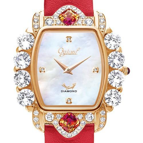 Ogival 愛其華 禮獻凡爾賽珠寶錶公主方系列 380-51DLR