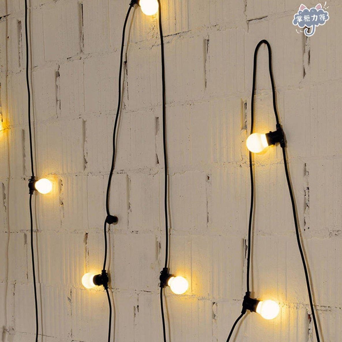 【全館免運】戶外婚禮派對用10米防水LED燈串