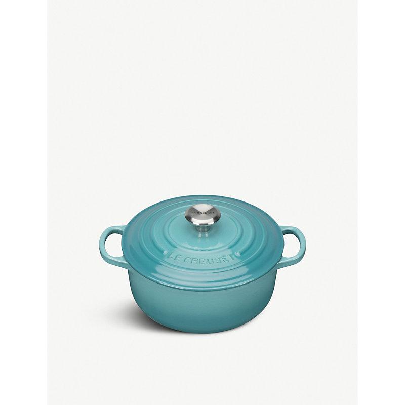 Signature cast iron casserole dish 20cm