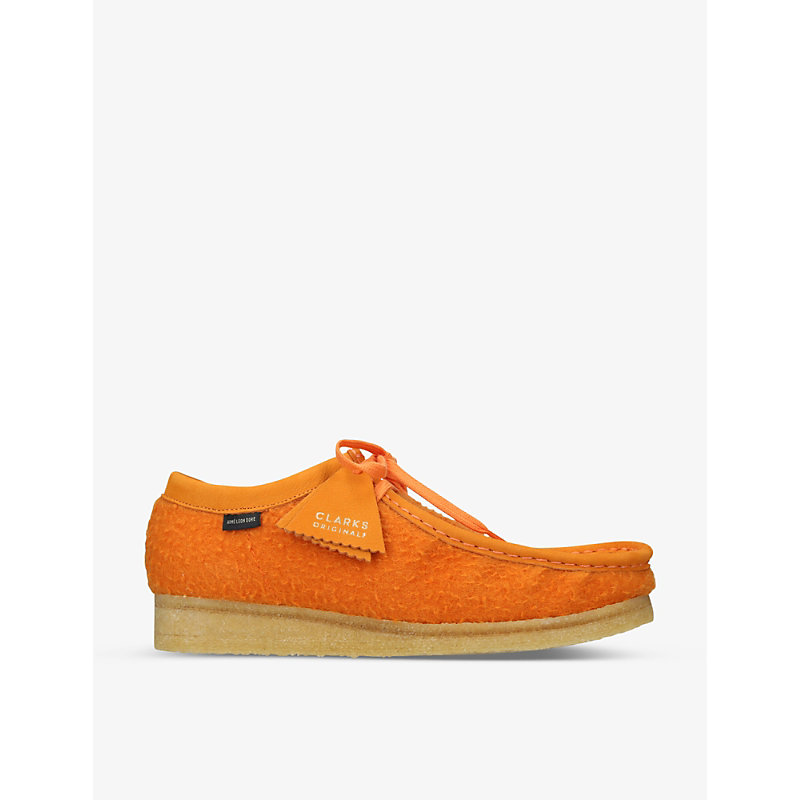 Clarks Originals x Aimé Leon Dore Wallabee wool shoes