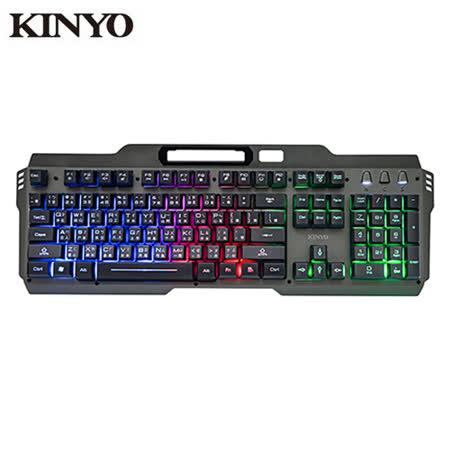 KINYO 懸浮電競發光鍵盤GKB3000