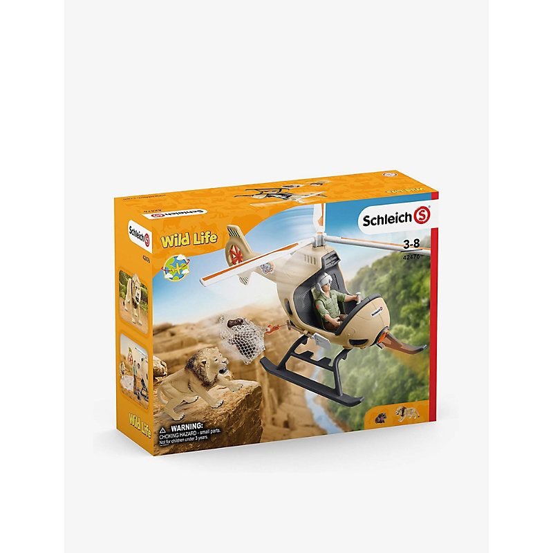 Animal Rescue Helicopter toy set