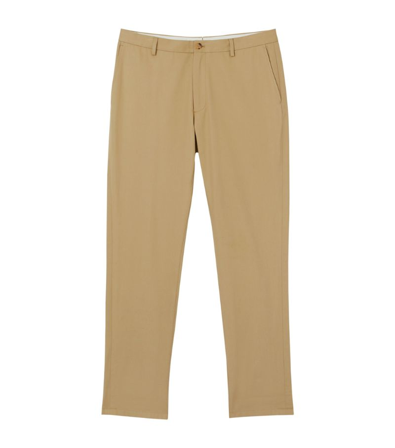 Burberry Slim-Fit Cotton Chinos