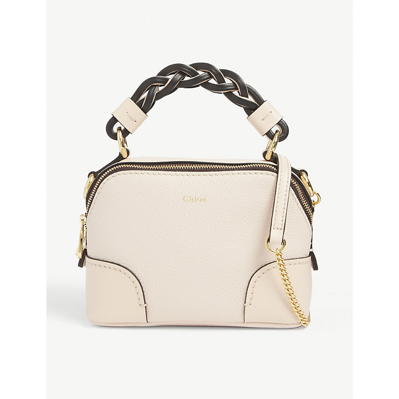 Daria mini leather cross-body bag
