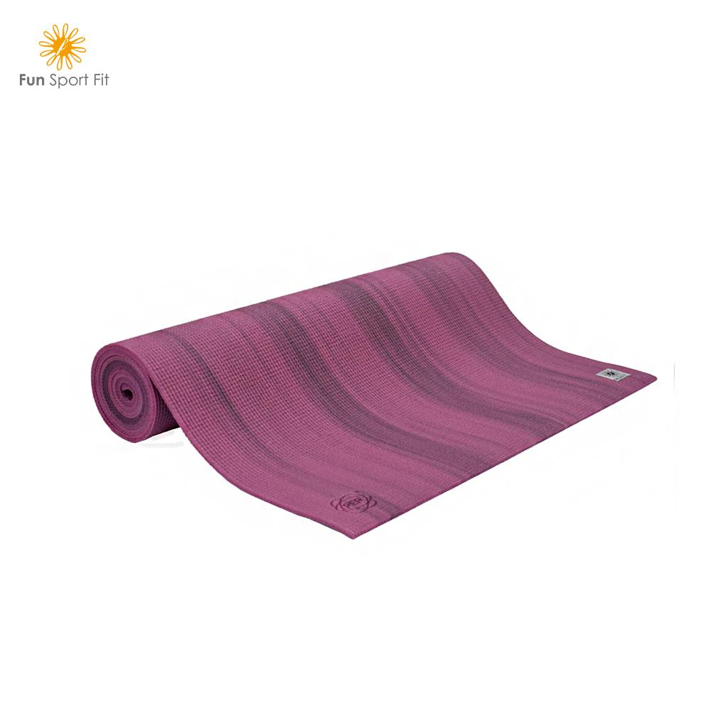 瓦妮莎-小漫步環保瑜珈墊-(6mm)送芭芭拉背帶 Fun Sport fit