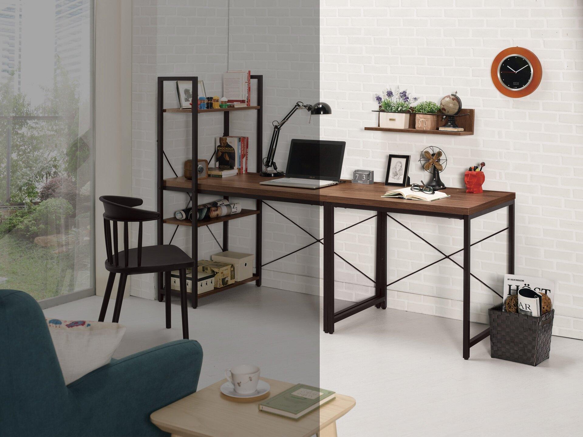 【尚品家具】CM-885-2 伯恩斯2.7尺書桌