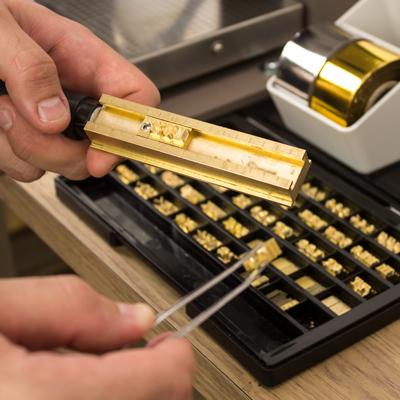 IVAN 革工佳® 142字 6.0mm純銅燙印組 3970-11