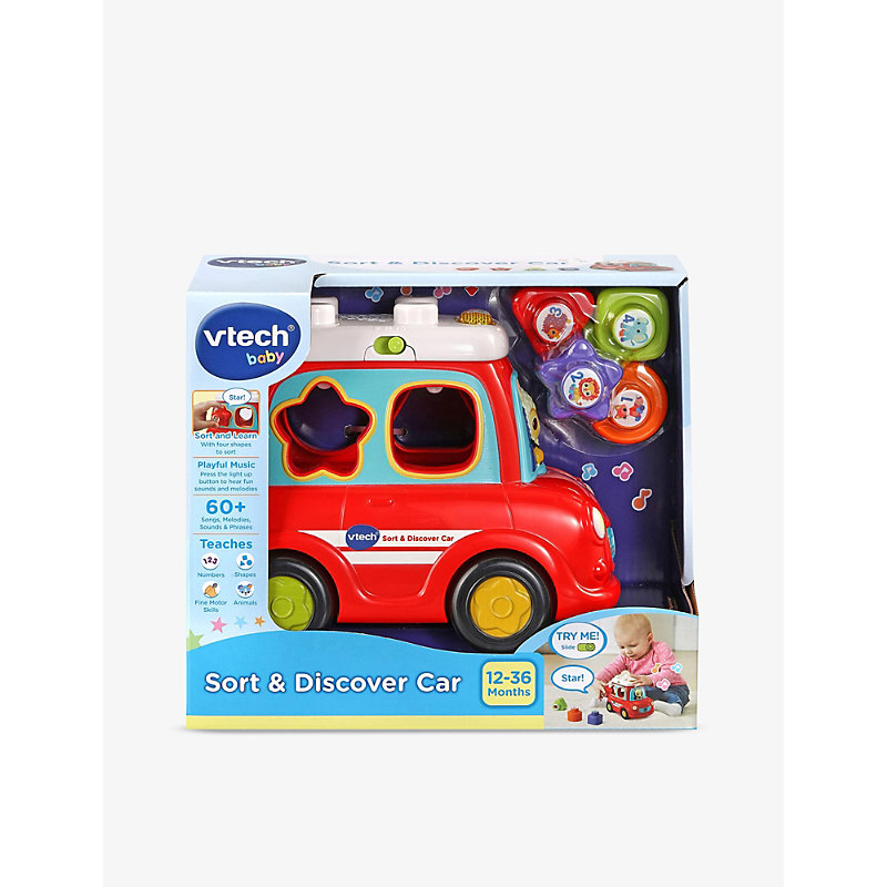 Sort & Discover toy car