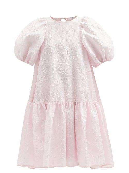 Cecilie Bahnsen - Alexa Floral Matelassé Dress - Womens - Light Pink