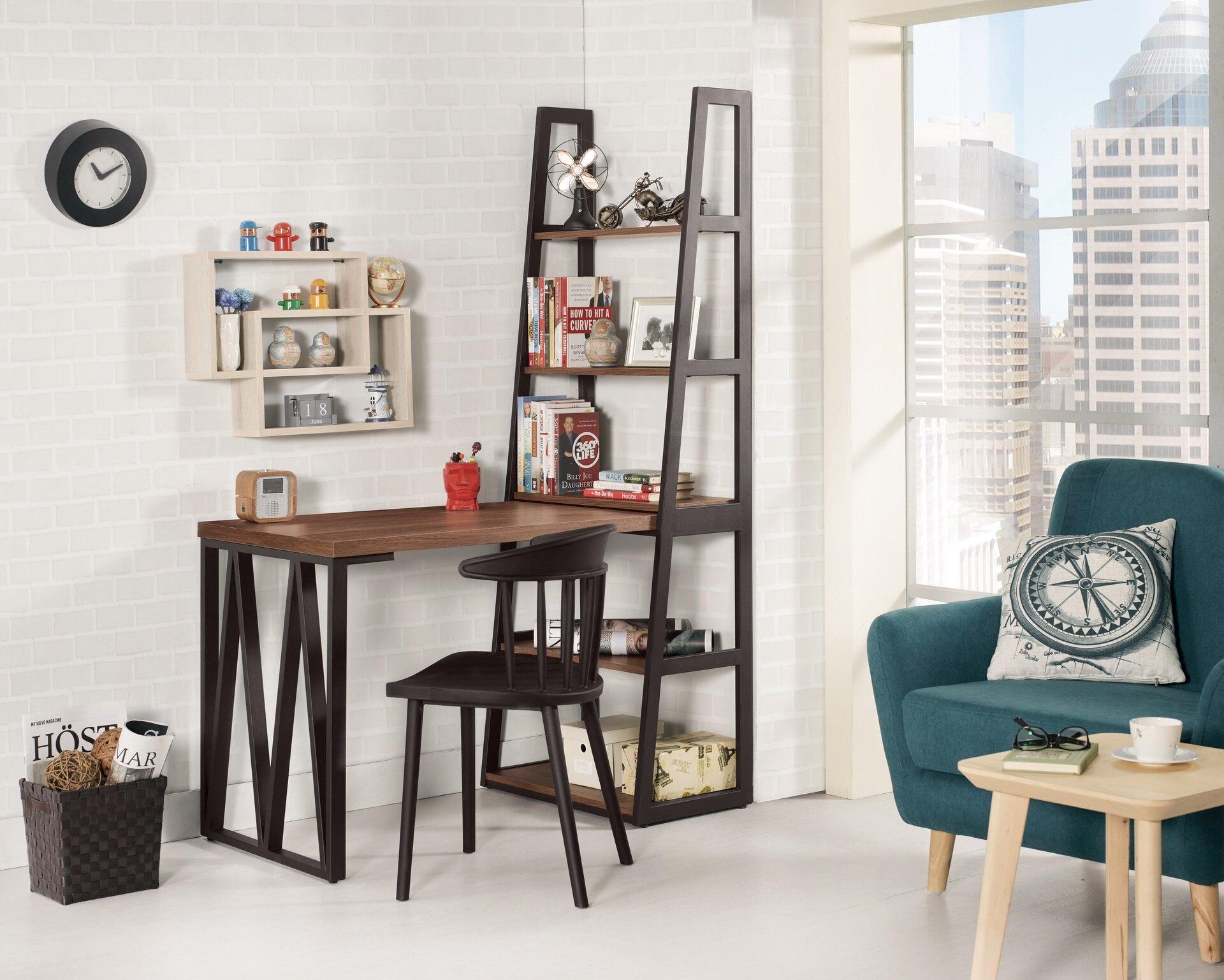 【尚品家具】CM-886-1 伯恩斯4尺L型書桌