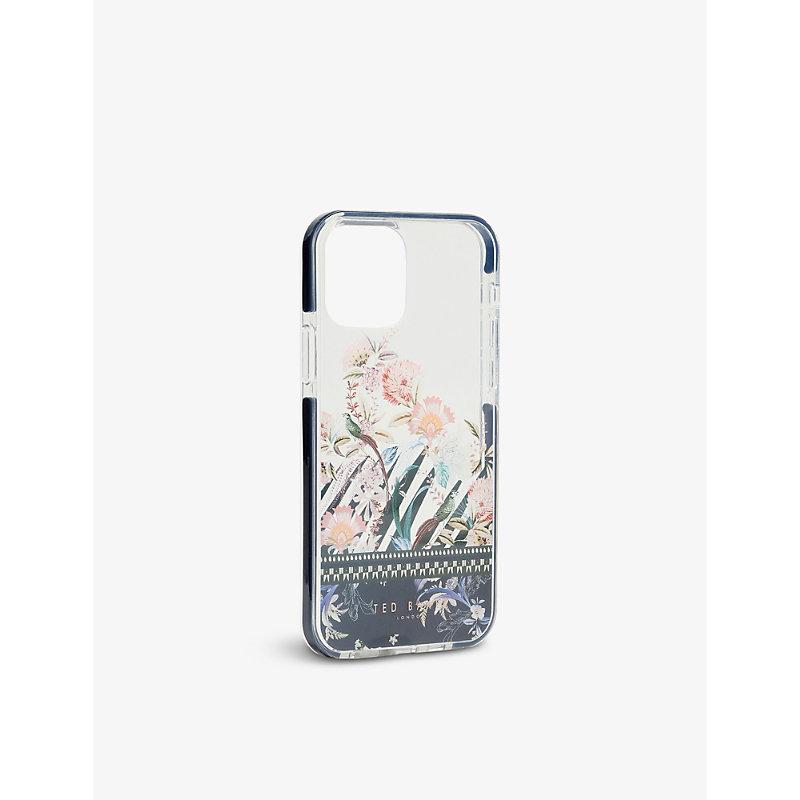 Decaaa Decadence-print anti-shock iPhone 12 / 12 Pro case