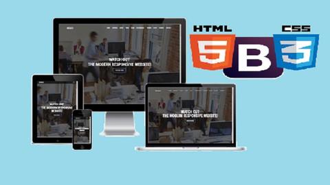 SIFIRDAN HTML5, CSS3 ve BOOTSRTRAP ren