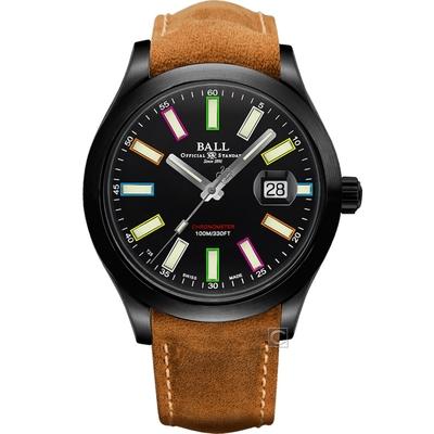 BALL Watch 波爾錶 Engineer II Rainbow 限量款機械錶(NM2028C-L28CJ-BK)-43mm