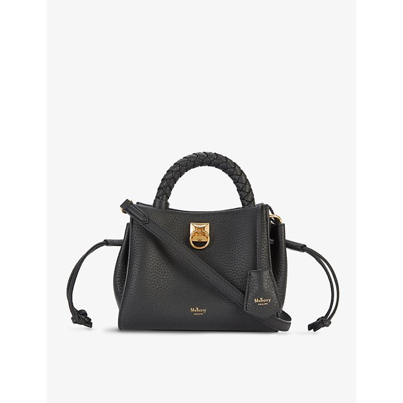 Iris mini leather cross-body bag