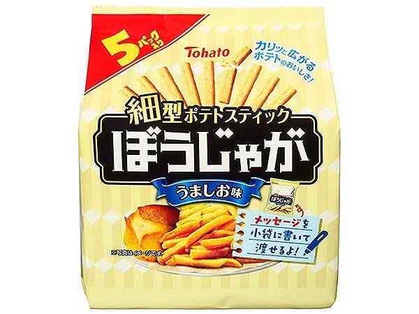 Tohato 東鳩~5袋鹽味洋芋條(85g)【DS001196】