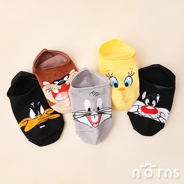 Looney Tunes樂一通矽膠止滑隱形襪- Norns 正版授權 棉襪 短襪 MIT台灣製