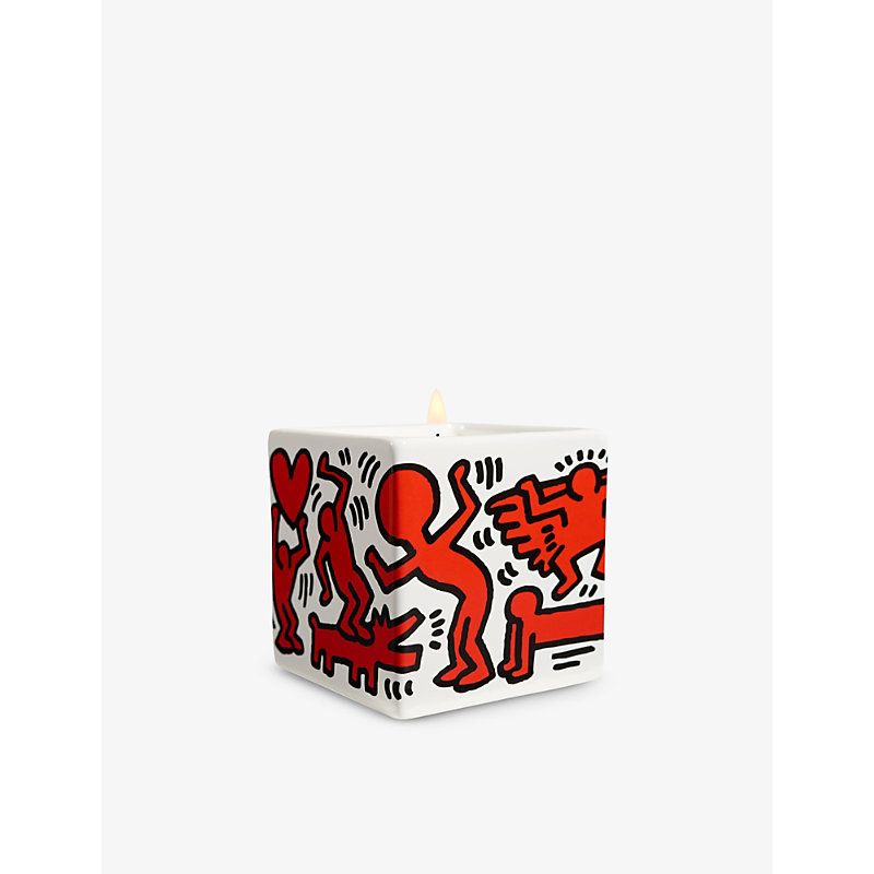 Keith Haring Red on White scented candle 260g