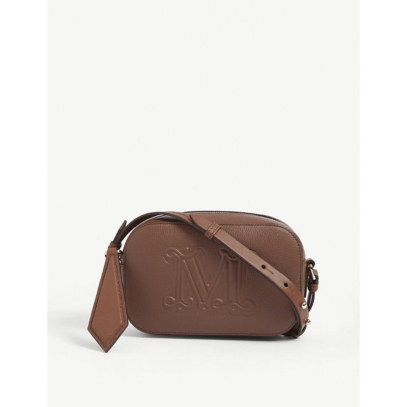 Elsa cross-body leather bag