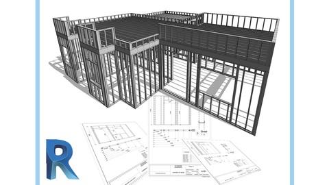 Curso diseo en Steel Framing de viviendas en Revit
