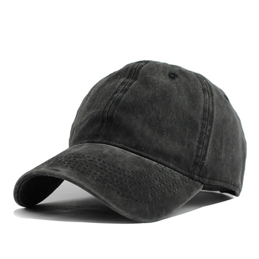 日系水洗老帽 / 男女均碼 / 仿舊復古設計 / 可調整帽圍 / 六色【QTJYW8】