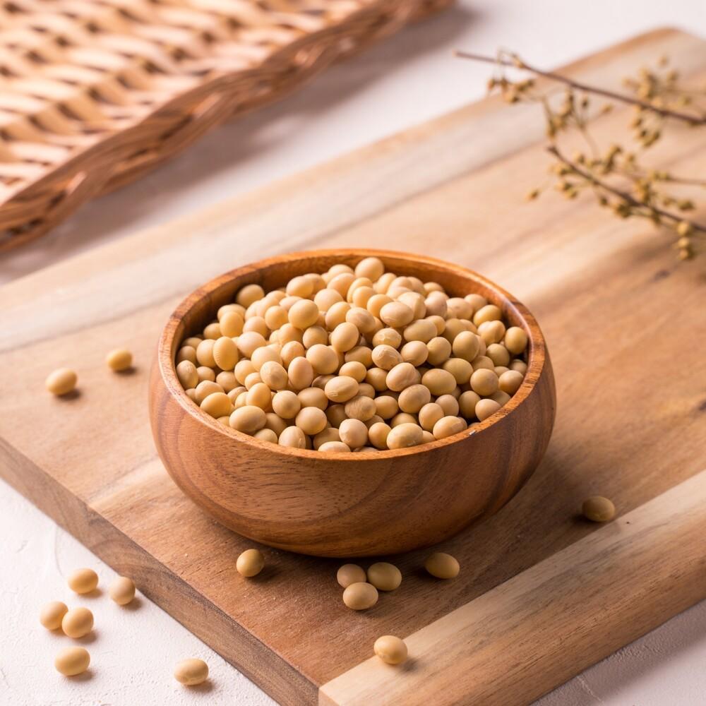 非基改黃豆(gm-free soybeans) 600g 豆花 豆奶 黃豆 [大島糧品]
