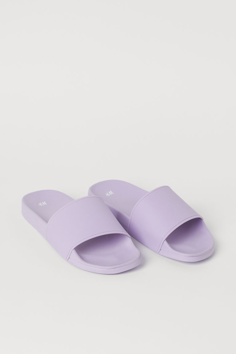 H & M - Pool shoes - 紫色