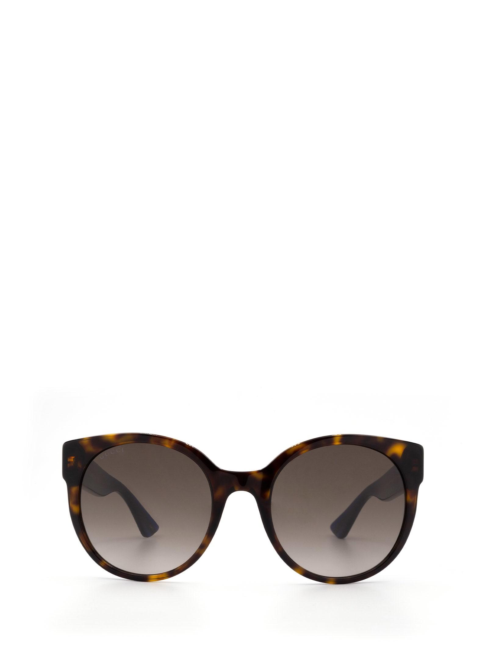 Gucci Gucci Gg0035s Havana Sunglasses
