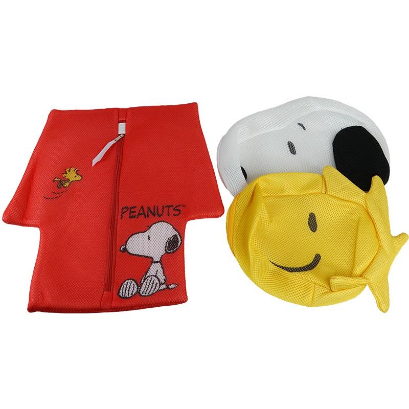 【史努比】卡哇依造型洗衣袋組 正版授權