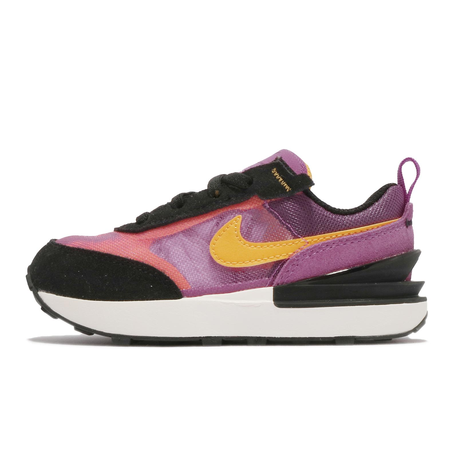 Nike 小童鞋 Waffle One TD 紫 桃紅 黃 嬰幼童 小Sacai 親子鞋【ACS】 DC0479-600
