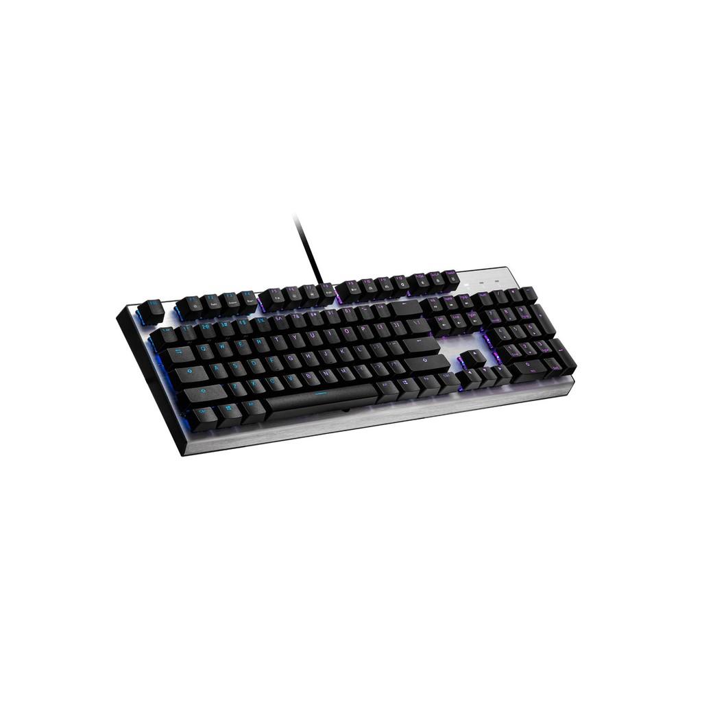 【限時限量送手托】酷媽 Cooler Master CK351 光軸/青紅茶軸 RGB機械式鍵盤