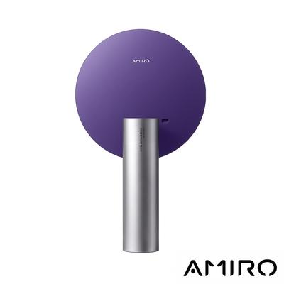 [快速到貨賣場] AMIRO O 系列 VINTAGE 限定高清日光 LED 化妝鏡復古版 - 迷幻紫(AML009C)