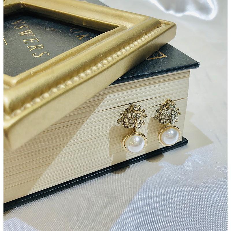 【李氏私飾】甜酒糖_手作耳環|垂墜耳環|針式耳環|兩戴式耳環|珍珠耳環|