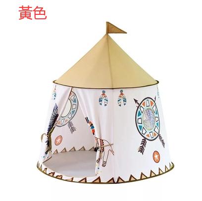 兒童帳篷 韓國印地安寶寶游戲帳篷城堡玩具屋兒童讀書角冷靜角郊游 愛尚優品