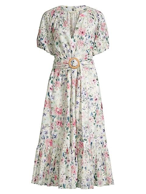 Caricia Floral Midi Dress