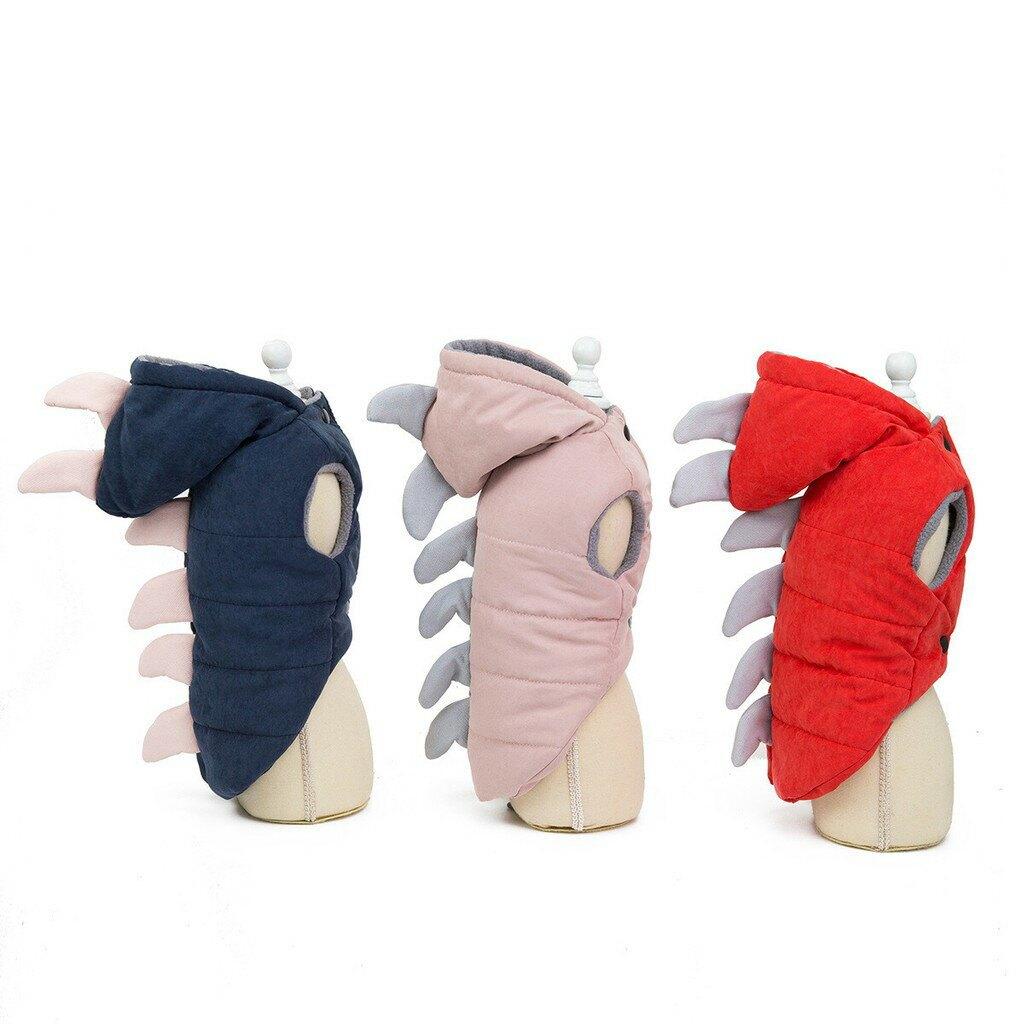 日本寵物商品 2020新作 狗狗恐龍裝寵物衣服 A款 YHS 犬恐竜綿服ペット服