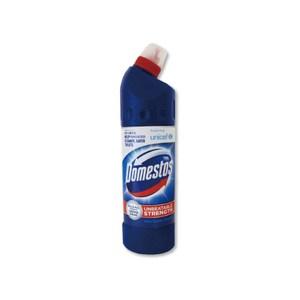 【英國Domestos多霸道】高濃縮4效合1潔廁漂白清潔劑(750ml/瓶)