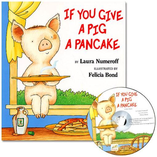 If You Give A Pig A Pancake 書+CD (JY Books版) 英文有聲繪本【歌德書店】