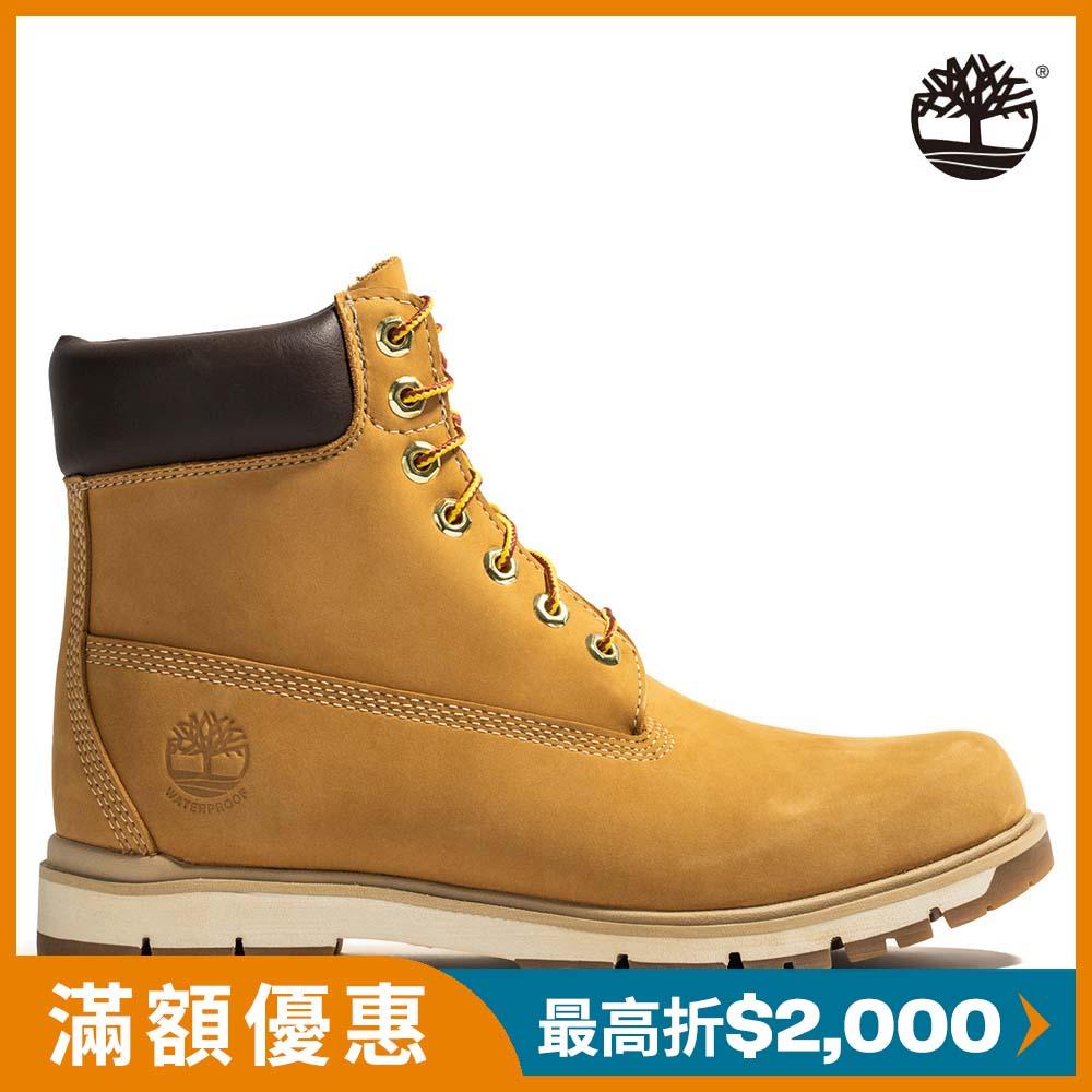 Timberland 男款小麥黃絨面Radford 6吋防水靴   A1JHF231