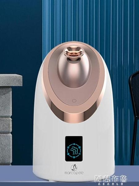 補水儀 蒸臉器冷熱雙噴蒸臉儀打開毛孔補水家用噴霧器熱噴儀美容儀 阿薩布魯