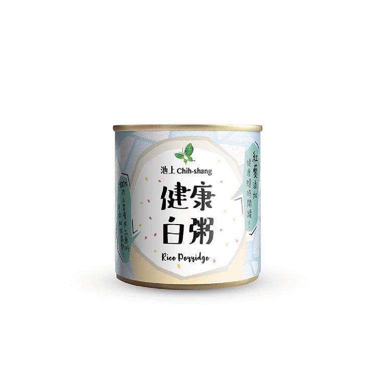 【池上鄉農會】松葉食品 台東池上即食粥-健康白粥 台灣製造