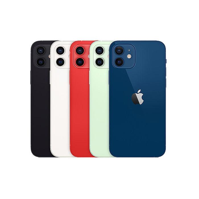 Apple iPhone 12 128G 6.1吋 智慧型手機【超值殼貼組】