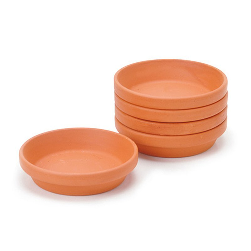 聖新陶芸 手作陶製植物底盆