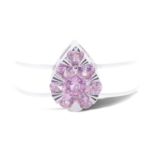 Ring Imagine pear pink sapphire