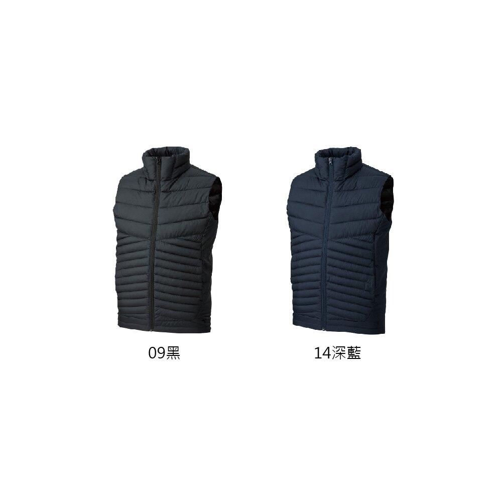 MIZUNO 男 羽絨背心發熱保暖外套 32ME9537