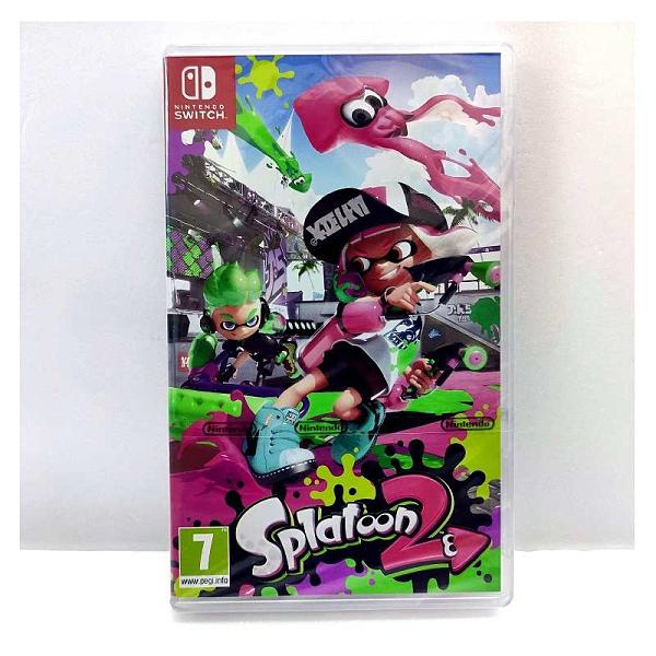 NS 任天堂 Nintendo Switch 漆彈大作戰 2 斯普拉遁2 英文版 漆彈+限量大磁鐵