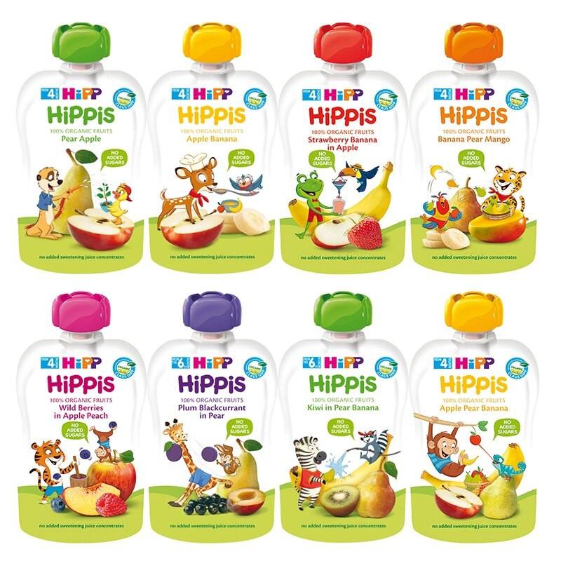 HIPP 喜寶 生機水果趣 有機纖果泥 果泥【樂兒屋】