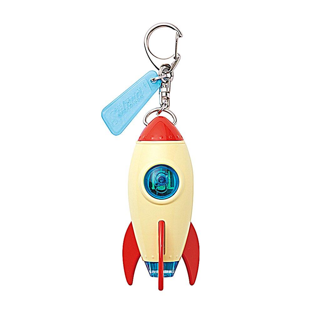 Dreams 太空火箭投射燈鑰匙圈 地球