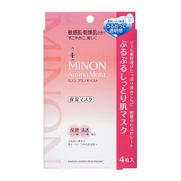 【MINON】蜜濃水潤保濕修護面膜