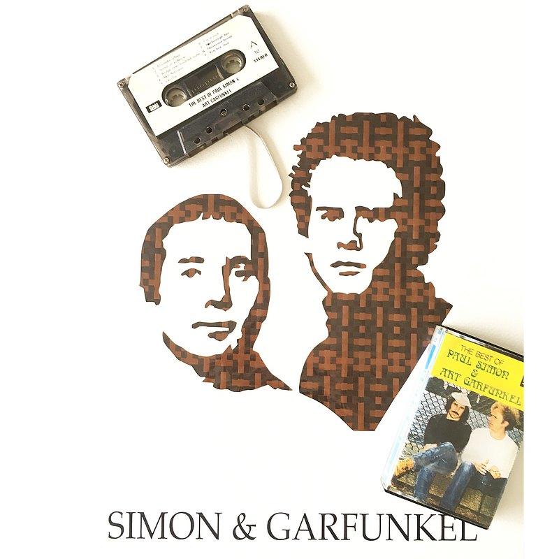 賽門與葛芬柯 | 美國民謠音樂二重唱 | 卡帶編織 | 附金典歌曲