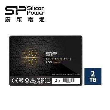 廣穎 A58 SATA III 2TB 固態硬碟(SP002TBSS3A58A25)